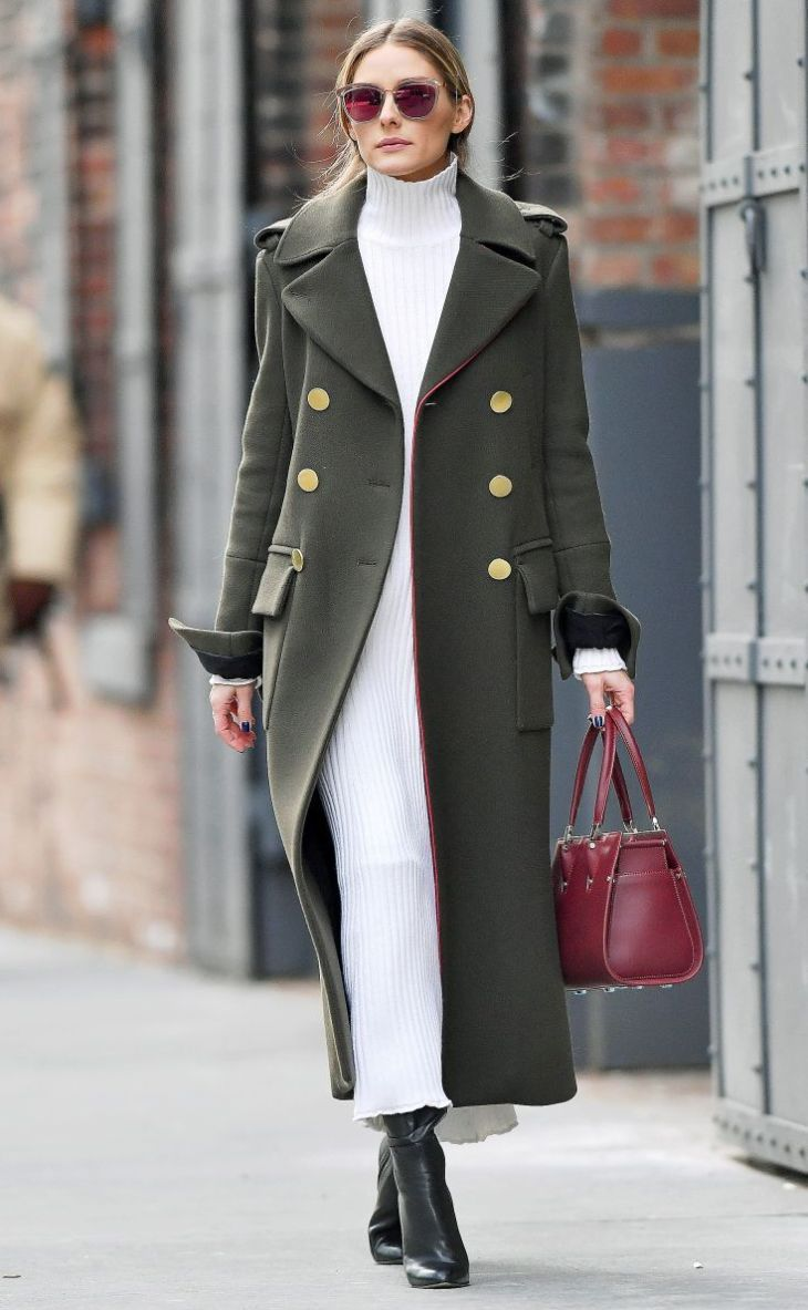 Ridiculously Gorgeous Celebrity Coats to Covet  Olivia palermo