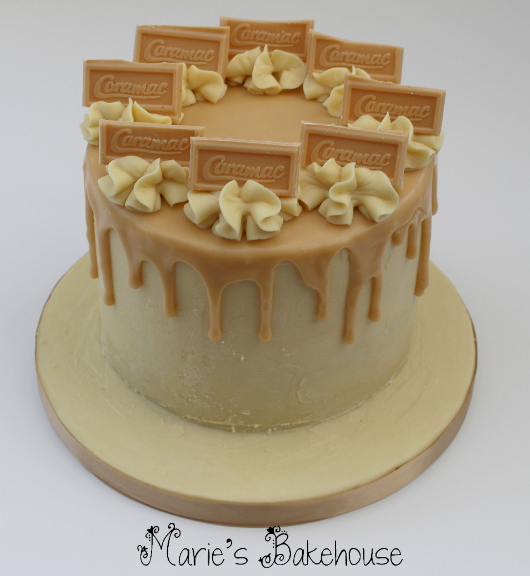White Chocolate Cake Decorating Ideas