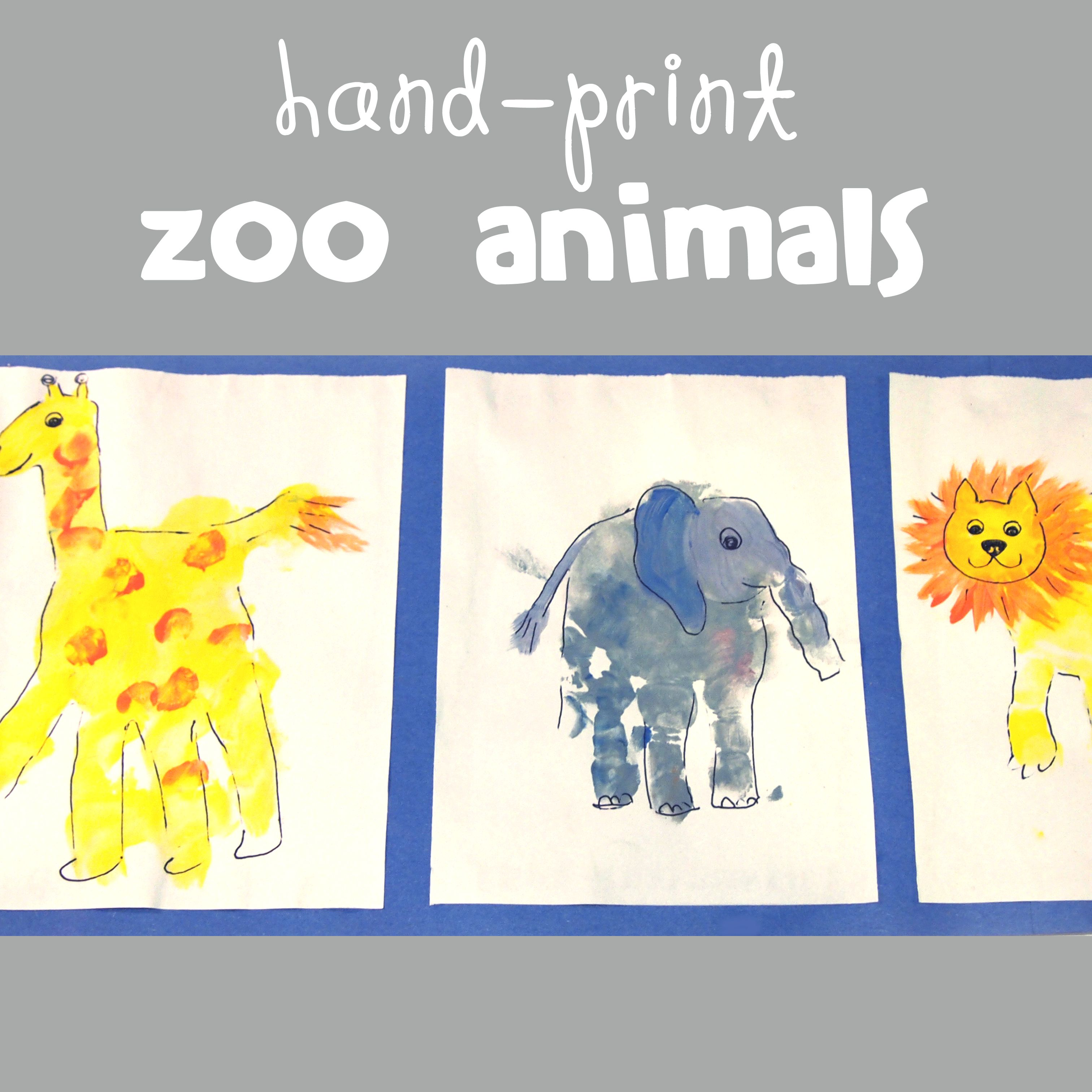 Z Is For Zoo Animals And A Complete Collection Of Awesome Alphabet Crafts For Kids