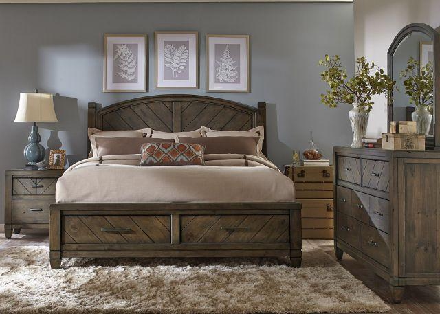 Modern Country Bedroom Set BEDROOM Pinterest