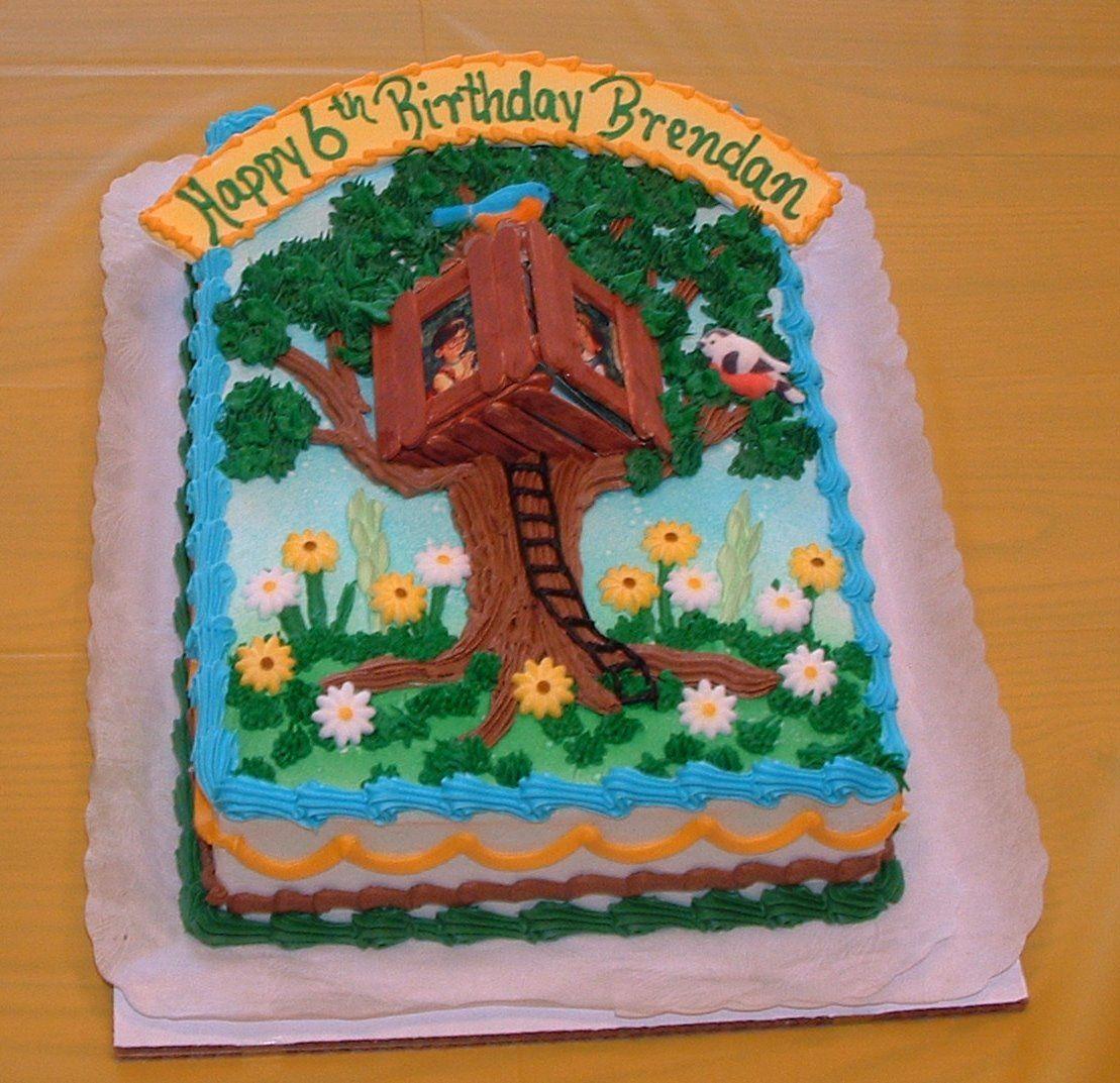 Cool Magic Tree House Cake