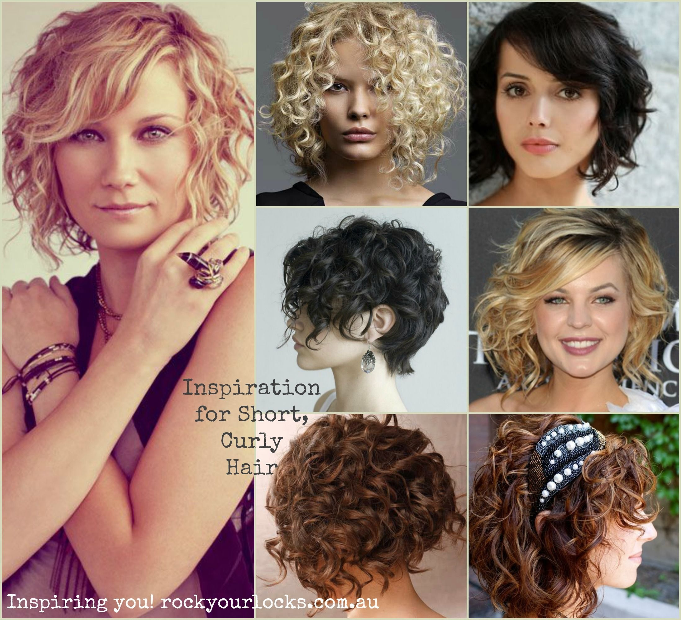 Haircuts for short curly hair particularly love the bottom right