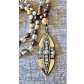 Mala warmth of pearls necklace golden warriors pearl necklace and