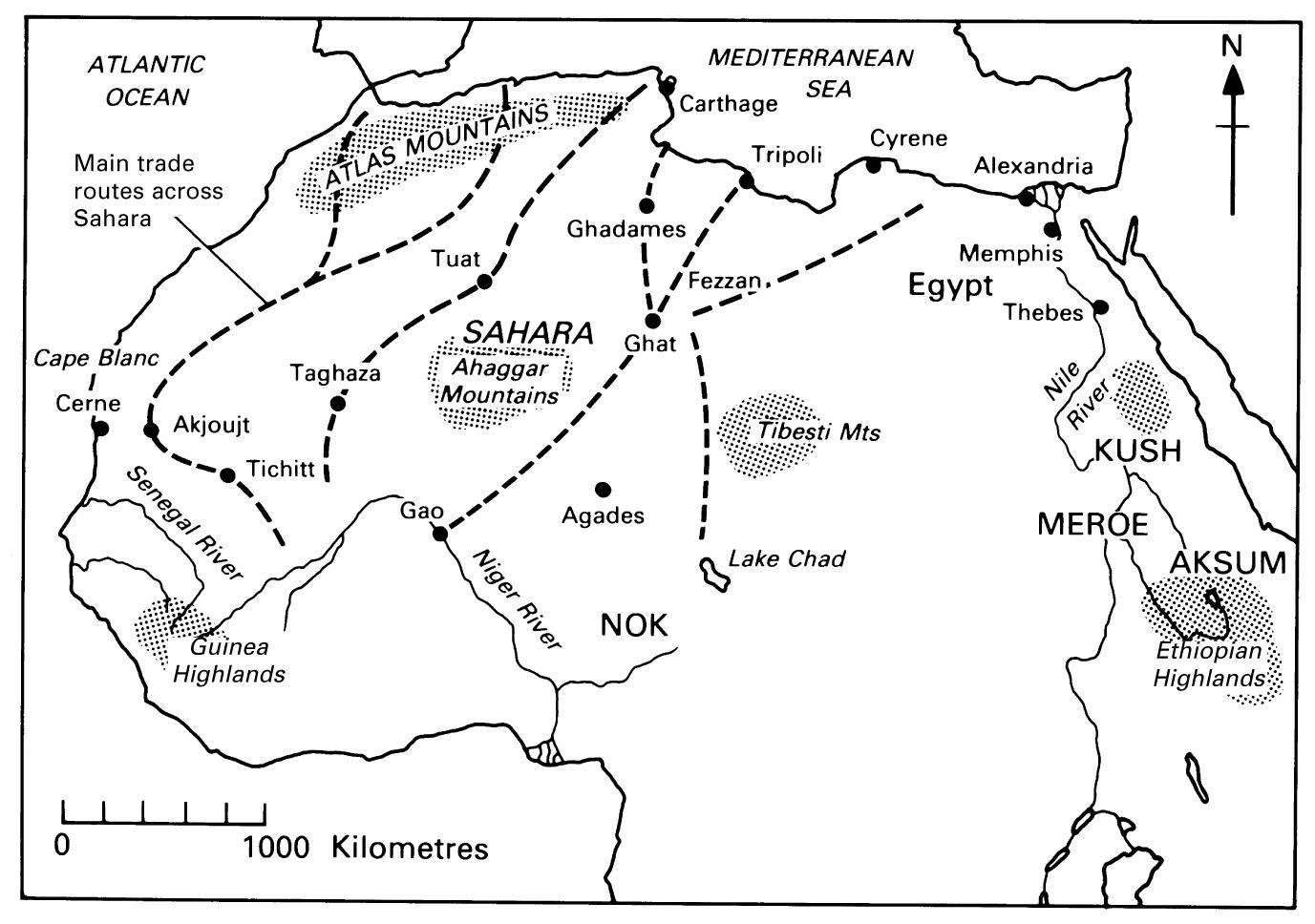 Trans Saharan Trade Route Palgrave Macmillan