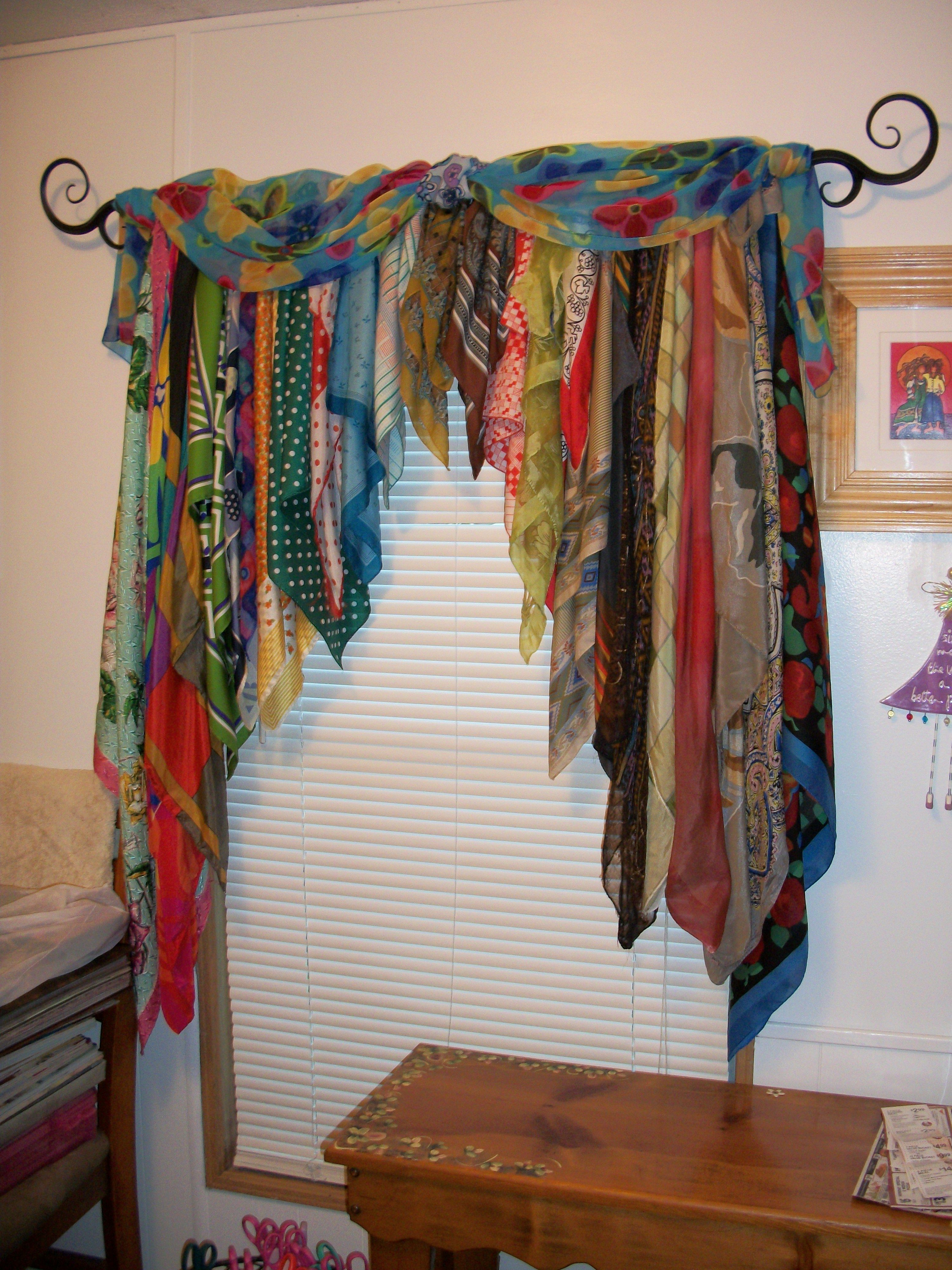 American Hippie Diy Crafts Use Old Scarves To Make A