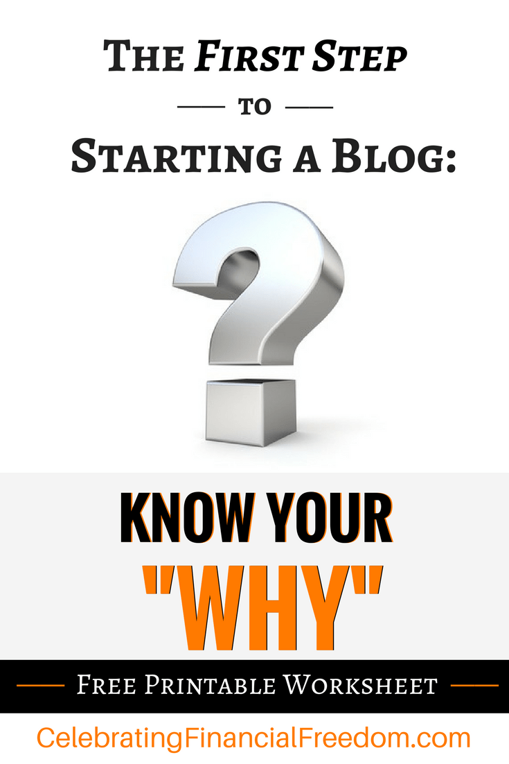 First Step To St Rt G Blog Know Your Why M Ey