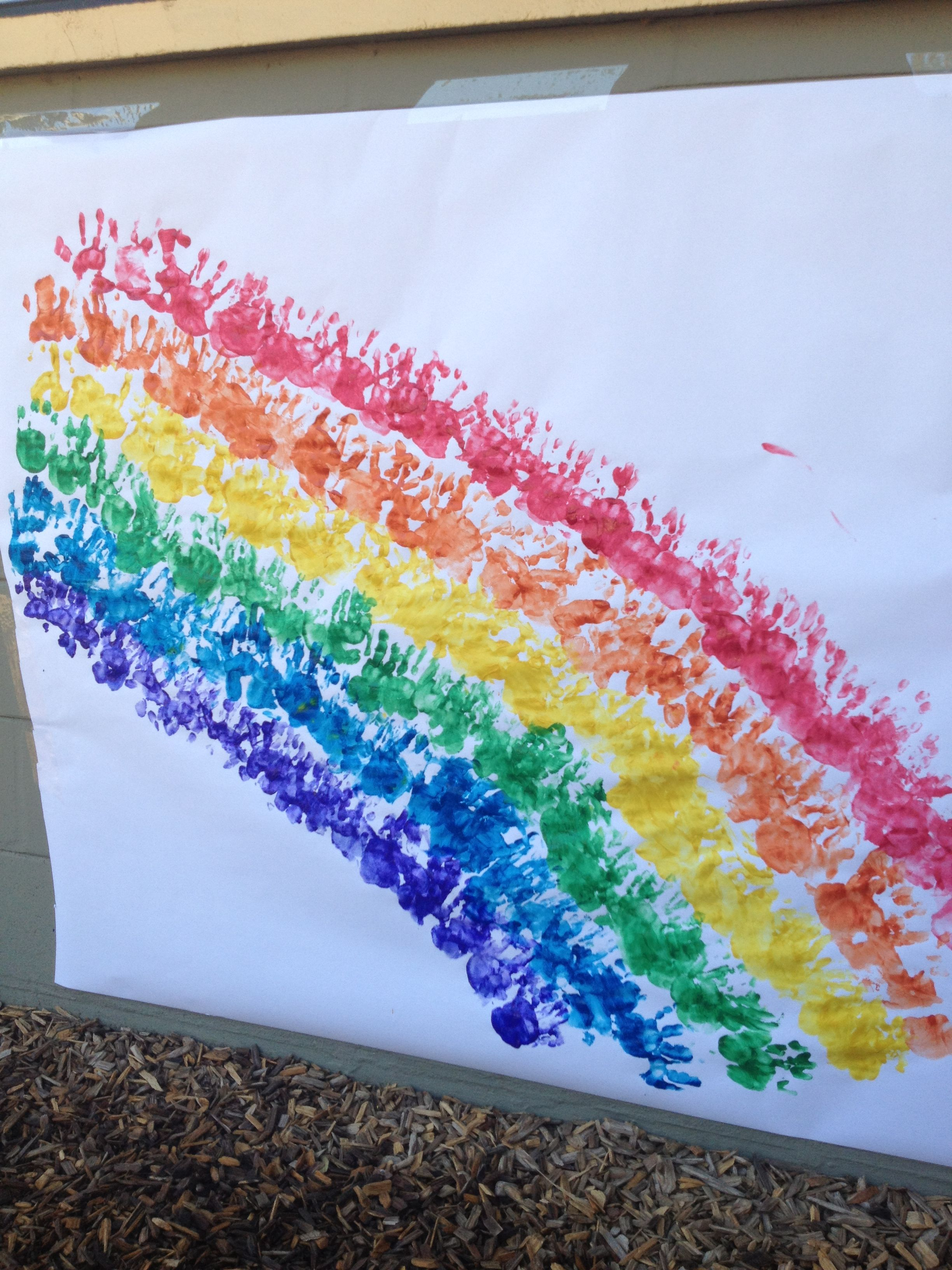R Is For Rainbow Craft For Preschoolers