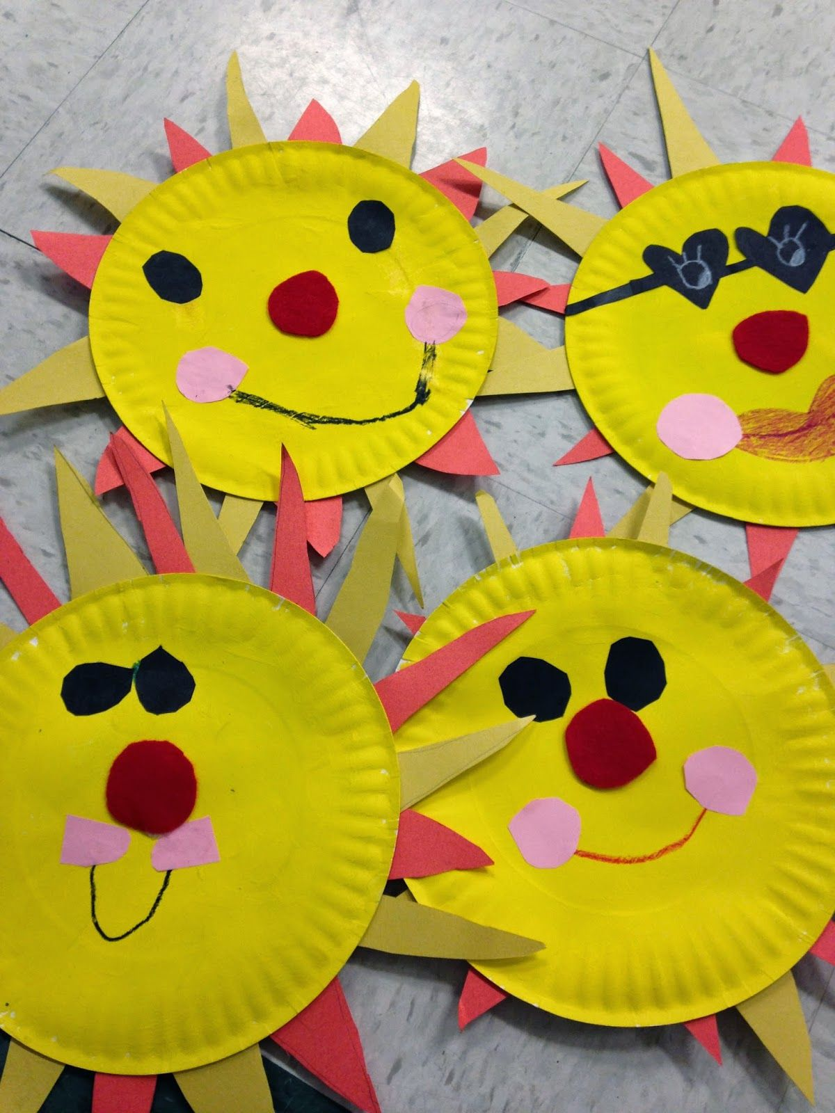 Easy Sun Craft Great For End Of Year