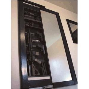 in wall gun safe reviews hidden doors pinterest guns on wall safe id=60894