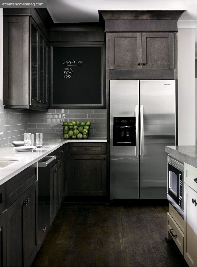 dark rustic wood mixed with modern elements gray white kitchen ideas for home on kitchen interior grey wood id=33474