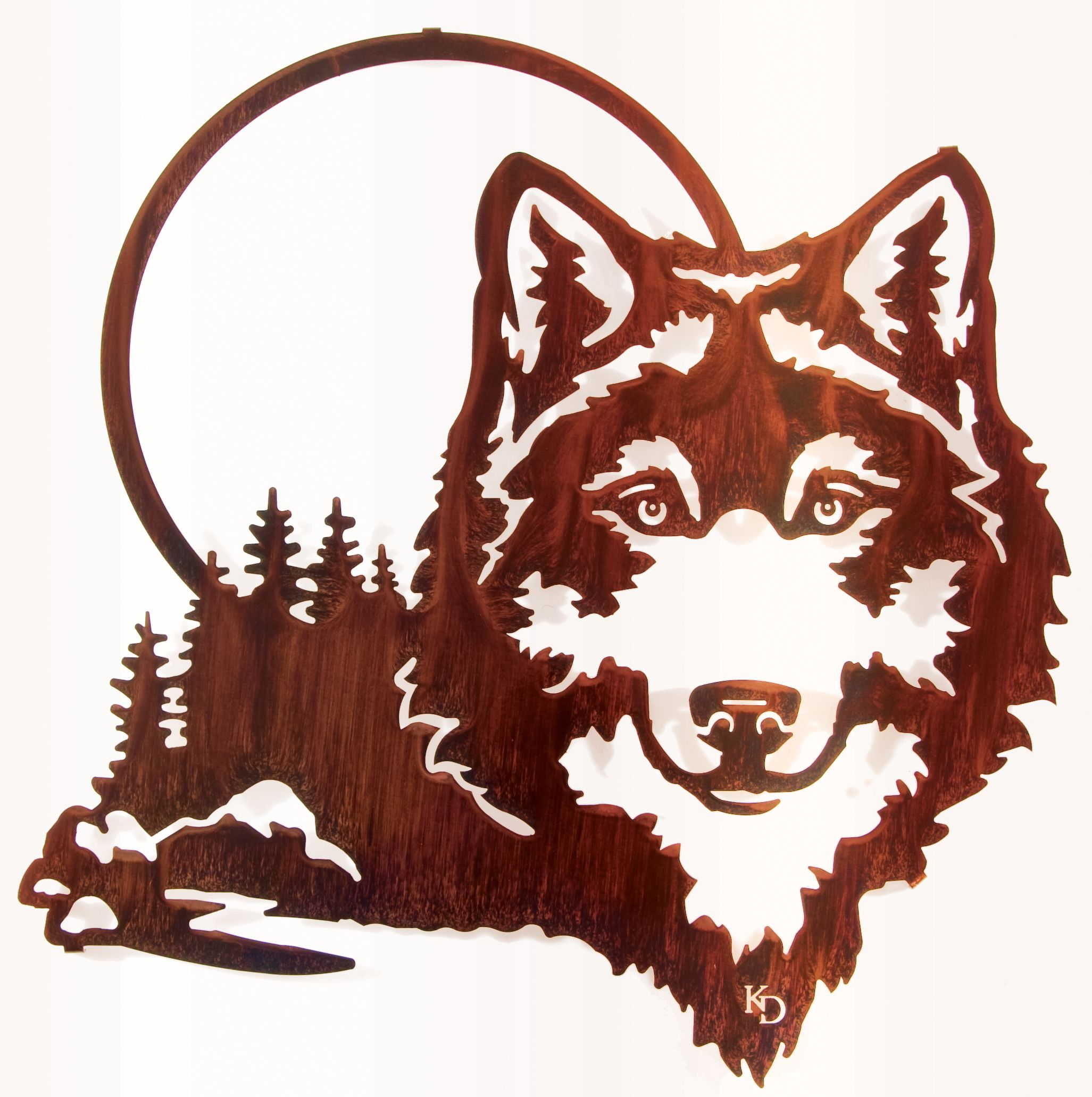 20 Wolf And Moon Wall Art Sticeditions
