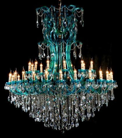 Beautiful Blue Chandelier Tiffany Co Fashion Decor