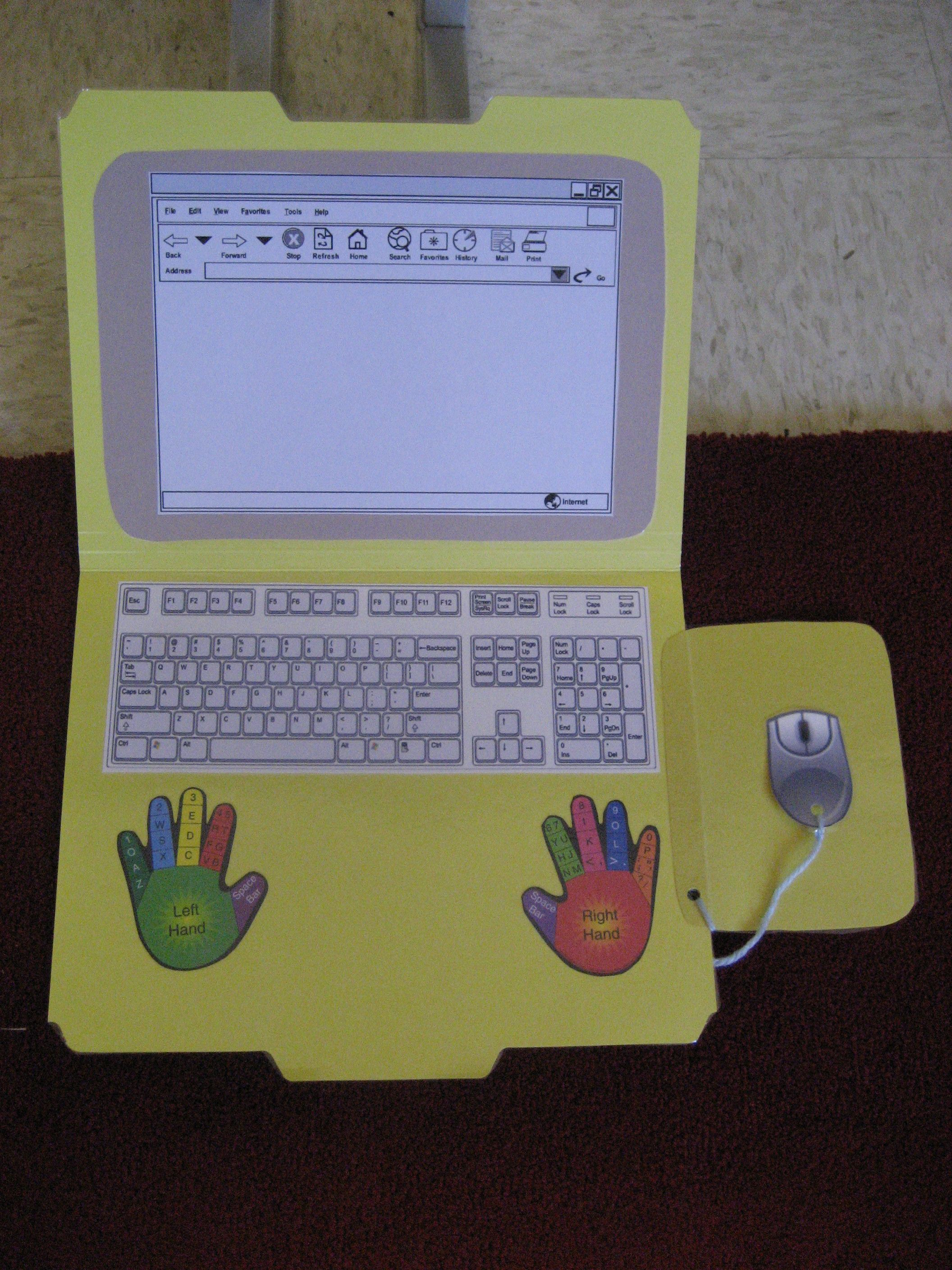 Keyboard Practice Folder Only Set Back Is Students Would
