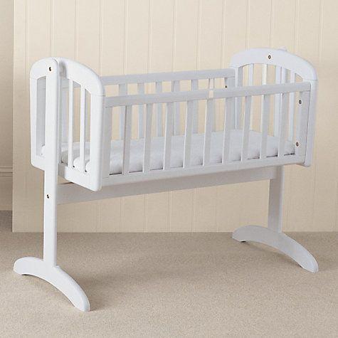 Anna Swinging Crib White