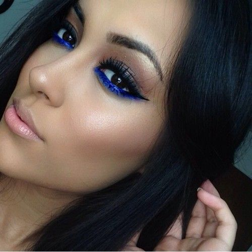 Best 25 Blue Eyeliner Ideas On Pinterest Blue Eyeliner