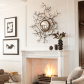 Great mantel ideas inspired by nature fireplace mantel decorating