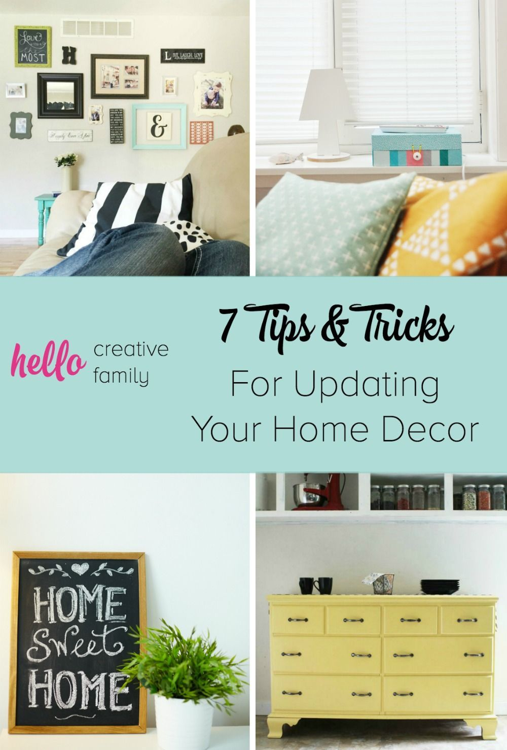 Home decorating Tips   7 Tips and Tricks for Updating Your Home     Home decorating Tips   7 Tips and Tricks for Updating Your Home Decor in  the New
