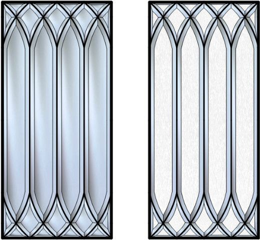 this is a stunning beveled glass cabinet insert every single piece of glass in this design is on kitchen cabinets glass inserts id=17222