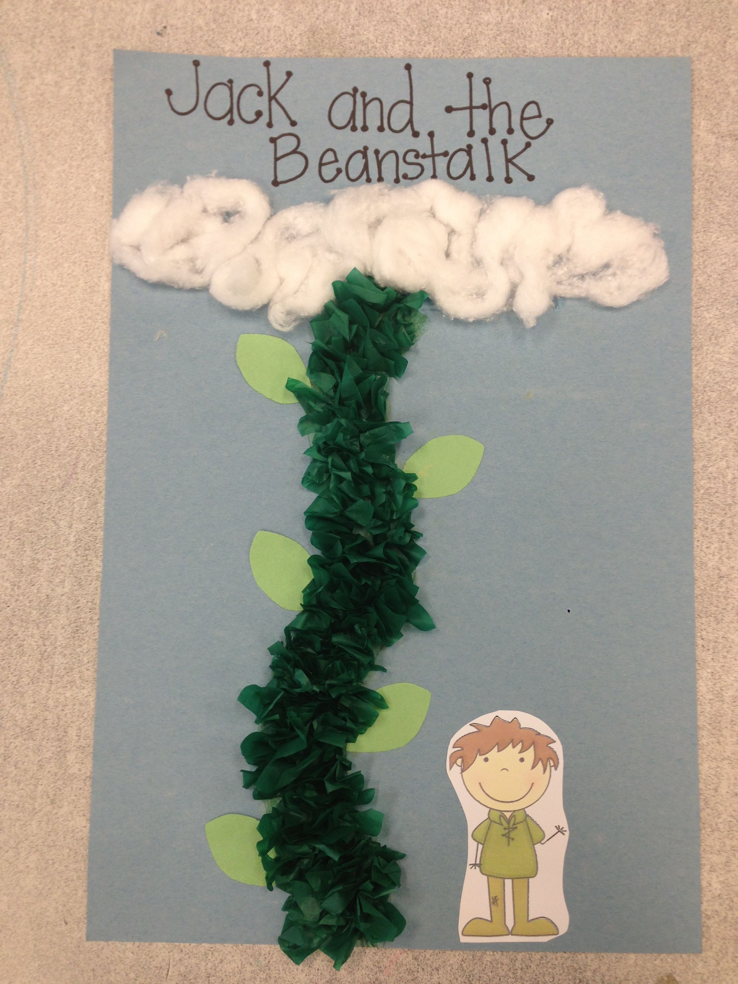 Jack And The Beanstalk Craft For Kindergarten