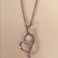 Heart pendant necklace beautiful never worn heart necklace perfect