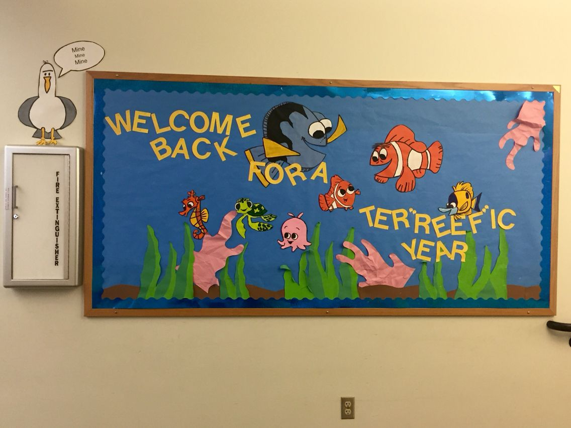 Welcome Back To School With Nemo And Dory