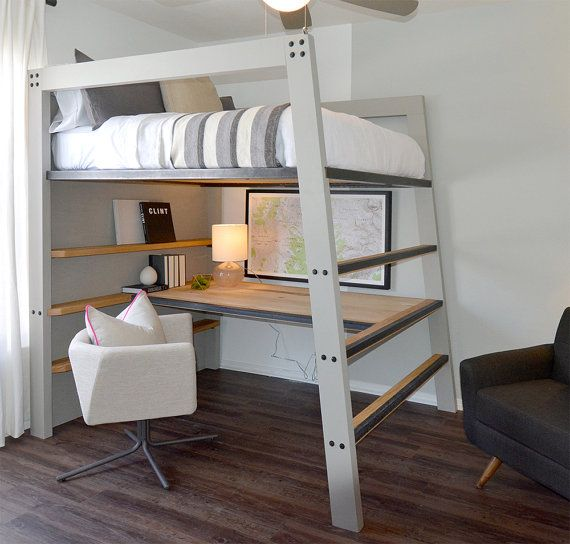 This Loft Bed Is Designed To Be Both Durable And Functional While Showing Clean Modern Lines