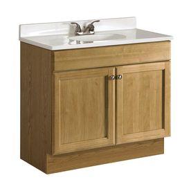 lowes bashford 176 00 item 572647 model bab vbcu3618 oak on lowes vanity id=25286