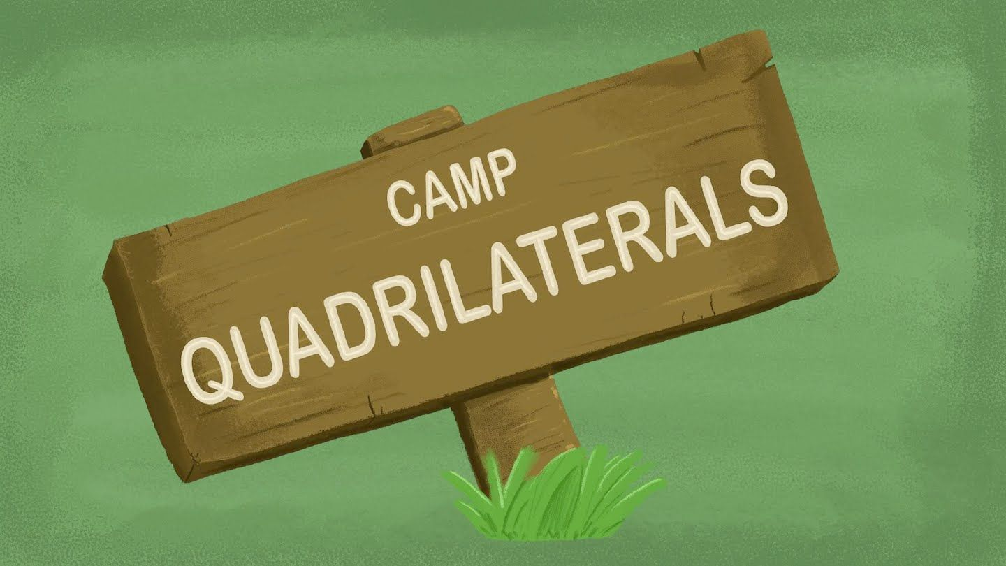 The Quadrilaterals Song 2d Shapes Song For Kids