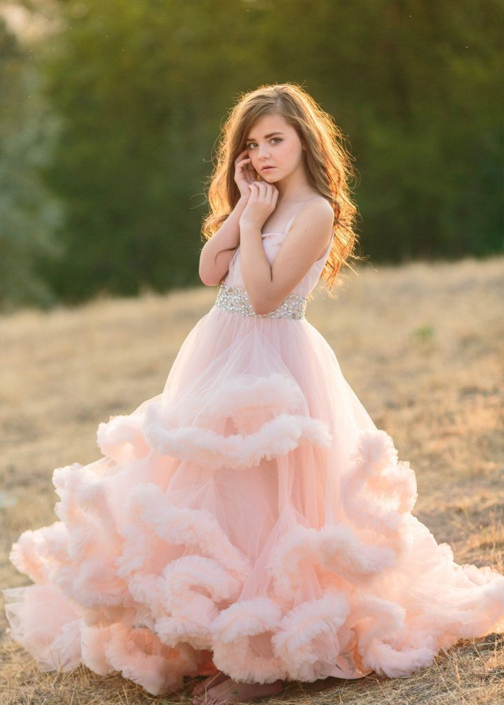 Harmony Gown u Girls Couture Gown u Girls Harmony Couture u Couture