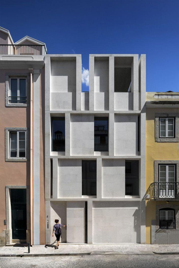 Setzkasten  Wohnhaus in Lissabon von ARX  Setzkasten Lissabon und