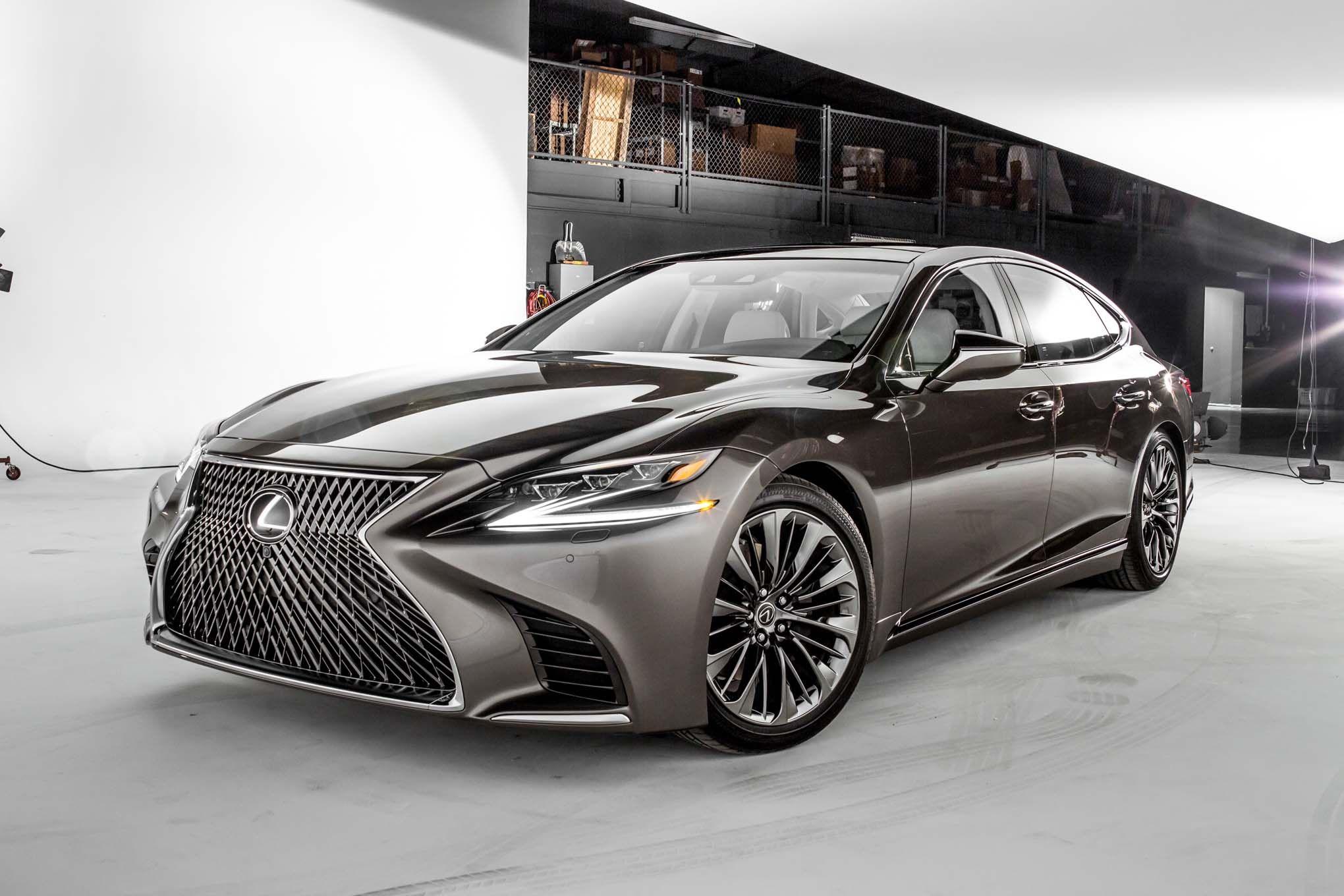 Detroit otomobil fuarında a§Ä±lan 2018 lexus ls