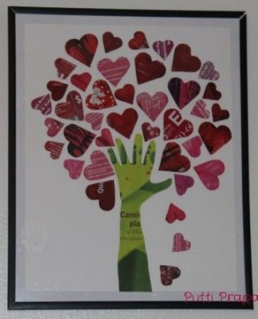 The Giving Tree | Heart tree, Crafts and Hand prints