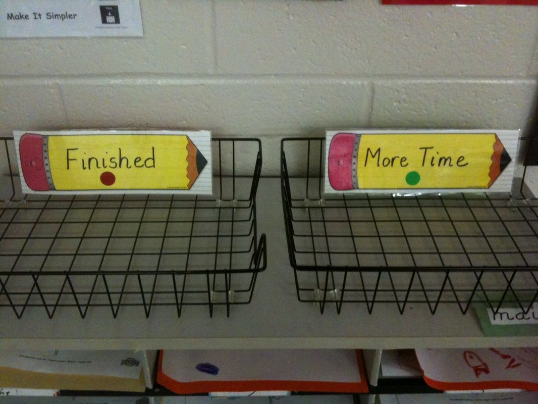 Like The Finished And More Time Basket Students Can Take