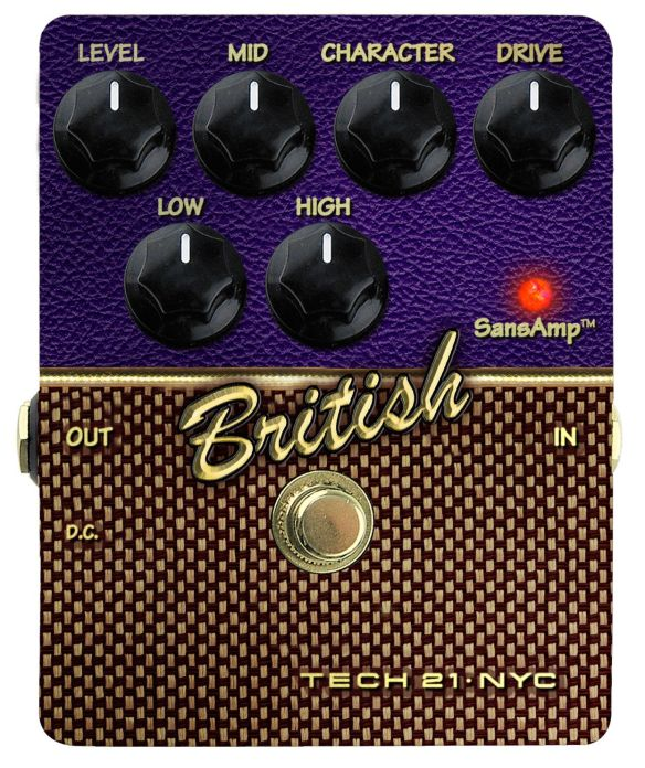 Tech 21 British: Marshall in a Box?