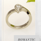 Pear diamond ring engagement u wedding rings dainty k gold