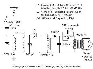 Crystal Radio Page   crystal radio 2   Pinterest   Radios