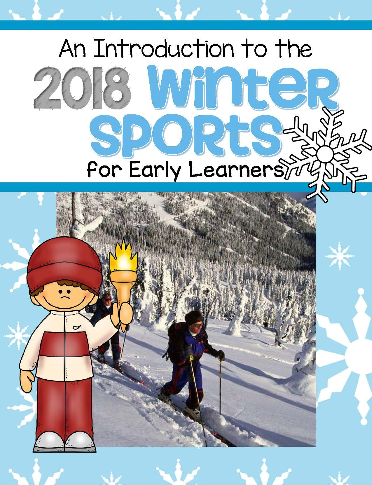Winter Olympics Introduction For Early Learners Sports