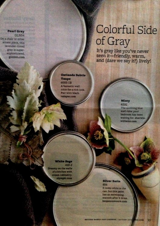 Better Homes And Gardens Colorful Side Of Gray Paint Color