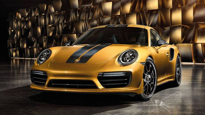 Image result for rare turbo s porsche gold