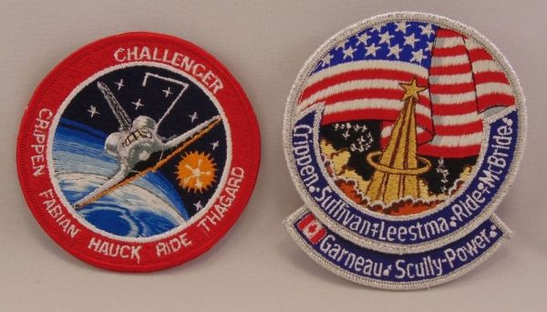 SALLY RIDE Space Shuttle NASA Mission Patches First