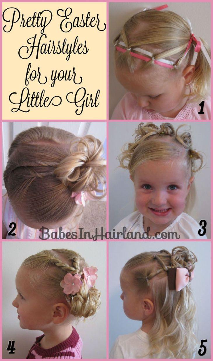 Pretty Easter Hairstyles Hairstyles For Jadyn Pinterest