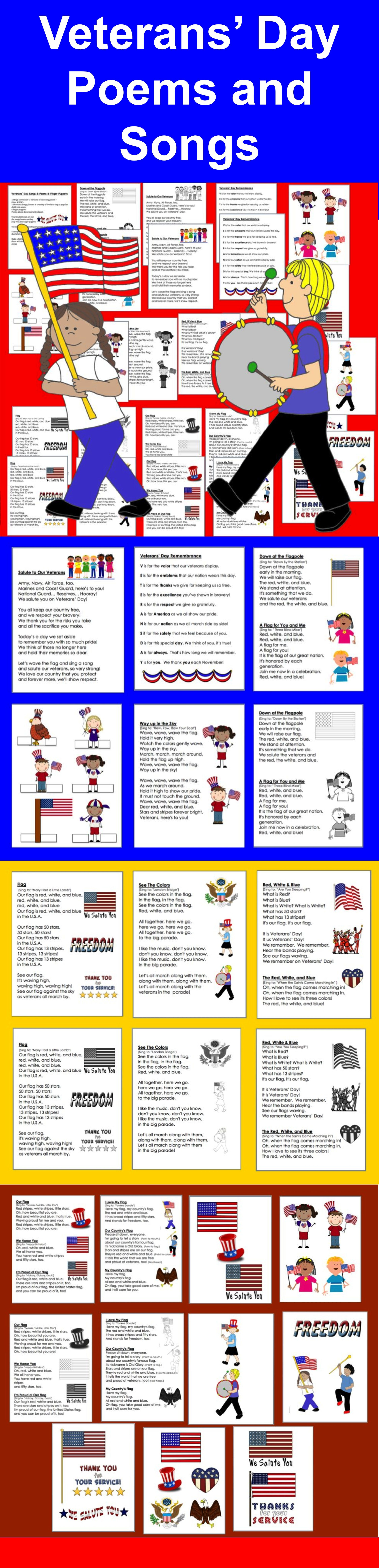 Veterans Day Activities Math And Literacy Bundle Value Save 5 00