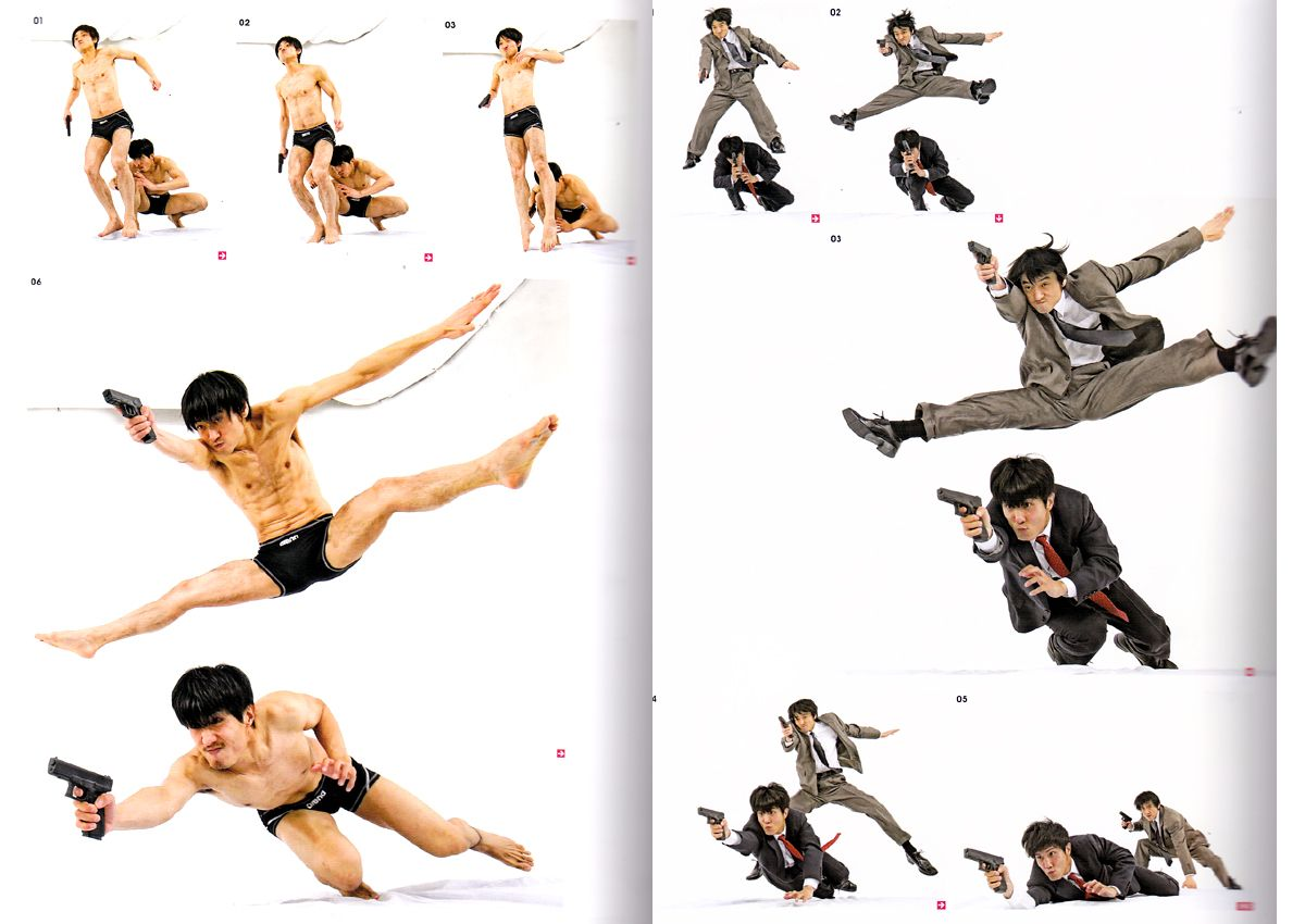 Real Action Pose Collection Vol 2