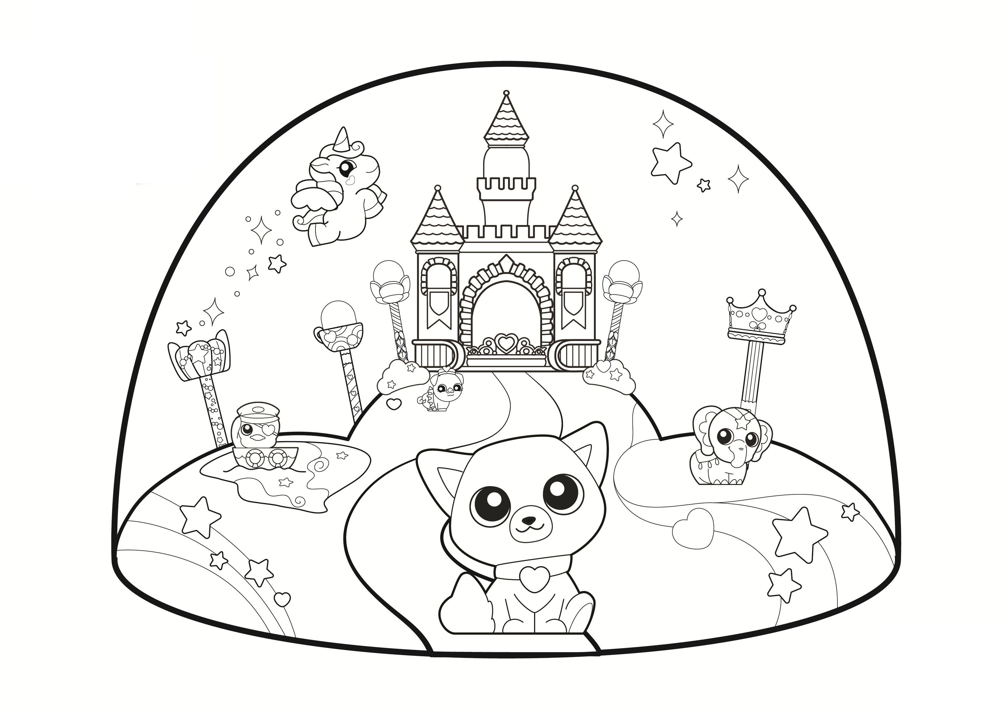 Coloring Pages Shopkins 4 3508×2480 Coloring Pages