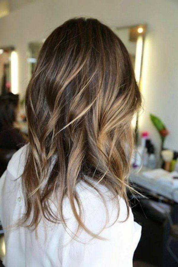 Les 25 Meilleures Ides De La Catgorie Balayage Cheveux