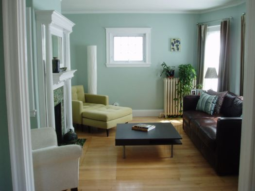 Wall Color Is Benjamin Moore Palladian Blue