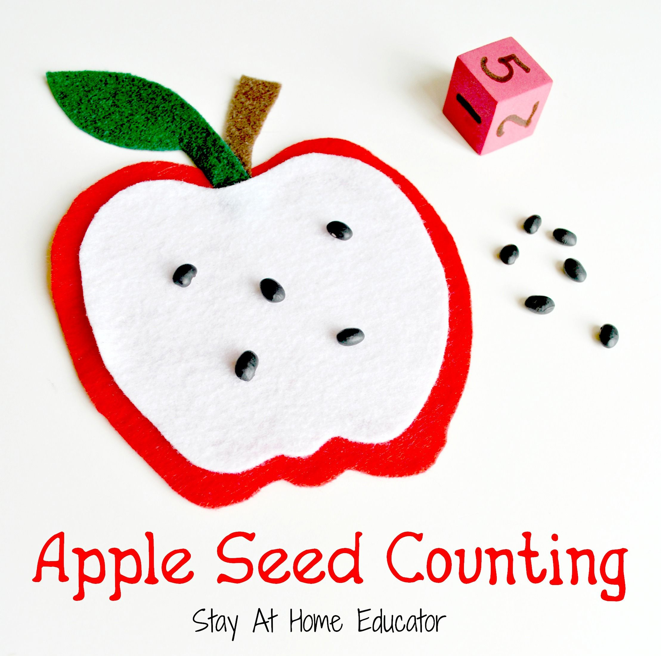 Free Apple Counting And Subtraction Printables For Preschoolers