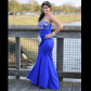 B darlin prom dress prom royal blue and dress prom