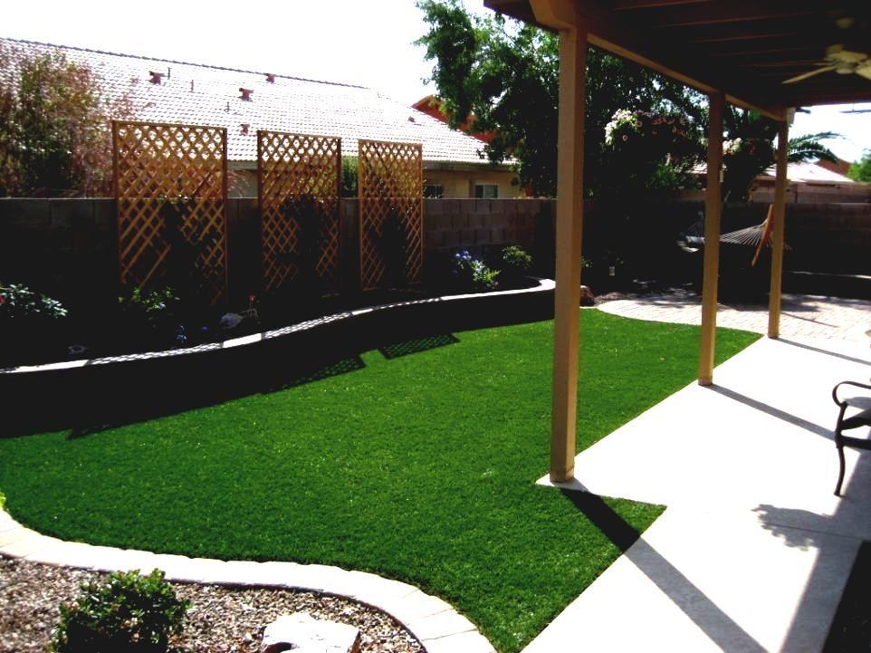 Small Backyard Ideas No Grass Cheap Landscaping With ... on Cheap No Grass Backyard Ideas  id=78544