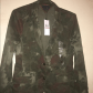 Tommy hilfiger army green patterned jacketblazer tommy hilfiger